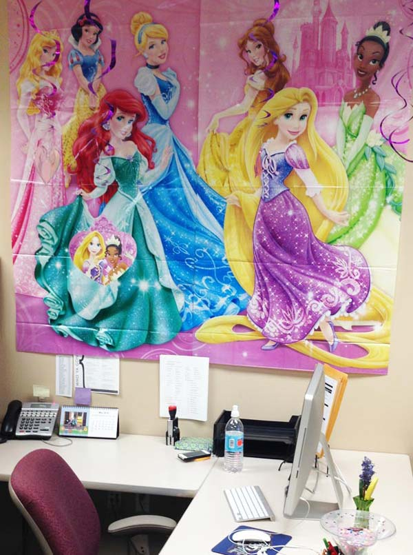 Disney cubicle