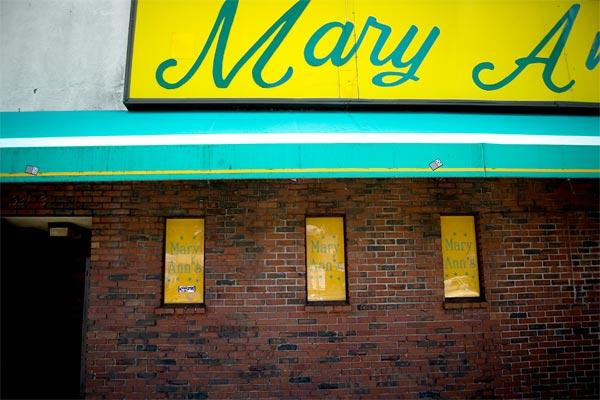 Mary Ann's Boston