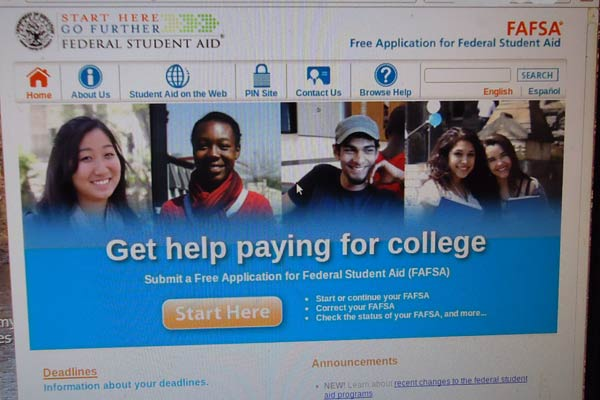 The College Admission Process Part V: The FAFSA