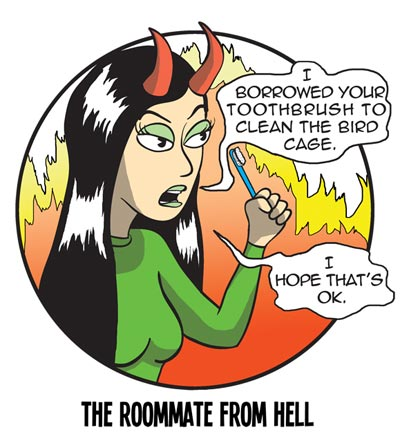 The Roommate From Hell