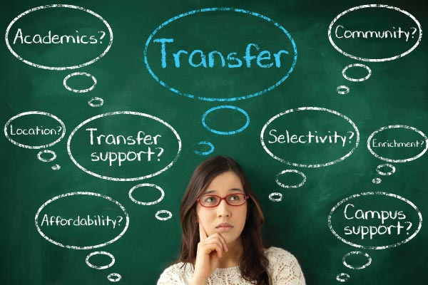 Help with information about transferring colleges?