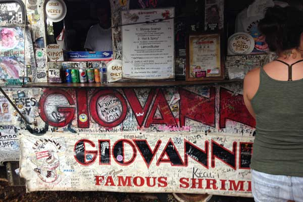 Giovanni's Famous Shrimp Truck in North Shore