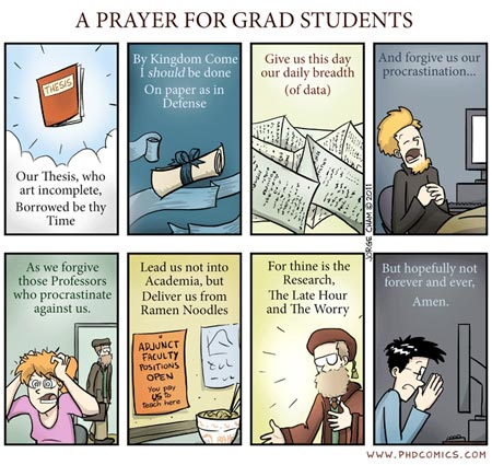 Grad research prayer