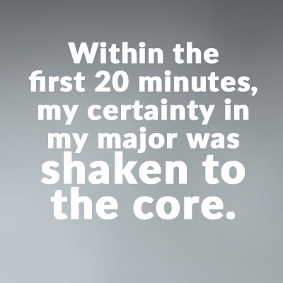 Shaken to the core quote