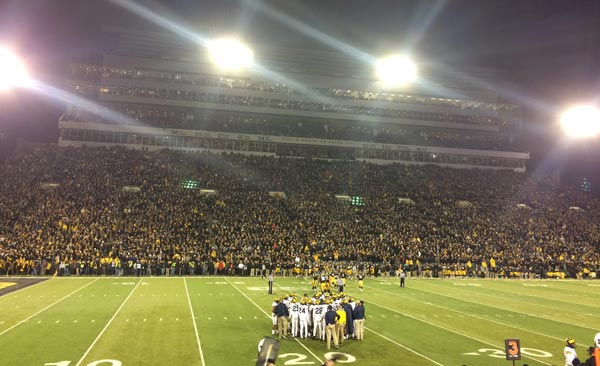 Michigan at Iowa
