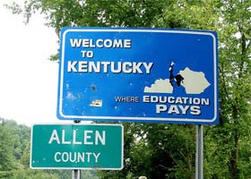 Four-Year Schools in Kentucky with Articulation Agreements
