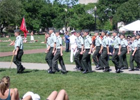 U.S. Colleges with Army ROTC