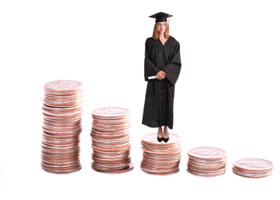 Colleges Raising the Most Money from Foundations (on a Per Student Basis)