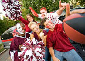 Colleges with Plenty of Campus Spirit