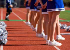 Colleges with Strength in Cheerleading