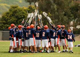 Colleges with Strength in Men's Lacrosse