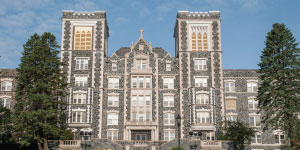 St. Scholastica, College of, TheLogo