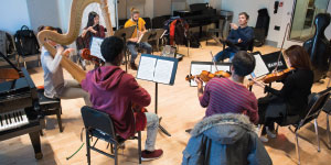 New School for Jazz and Contemporary Music, TheLogo