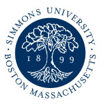 Simmons College School of Library and Information Science logo