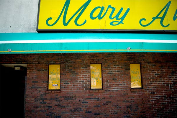 Mary Ann's Boston