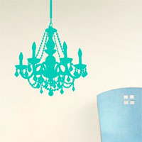 Chandalier decal