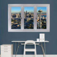 City window decal
