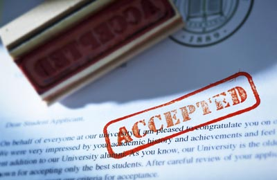The Ultimate Guide to the College Search: Accepted