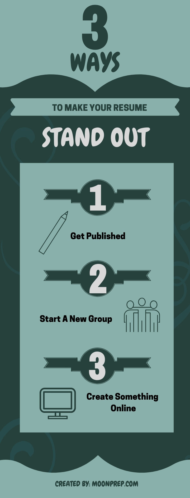 3 ways to stand out infographic