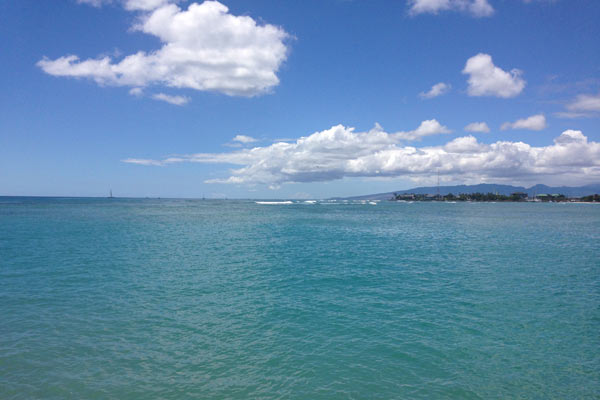 Another view from Ala Moana Beach