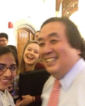YYGA Harold Koh selfie