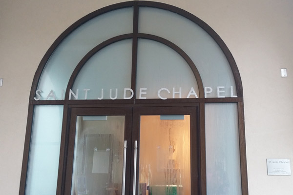 Although participating in religious activities is not required, Saint Leo regularly has services in Saint Jude Chapel.