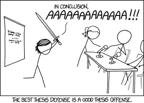 Grad research defense