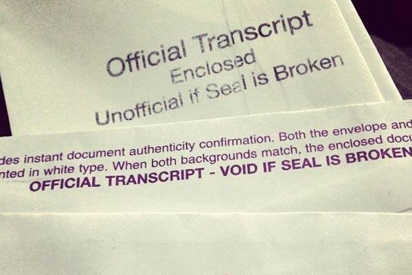 Buy college transcript paper