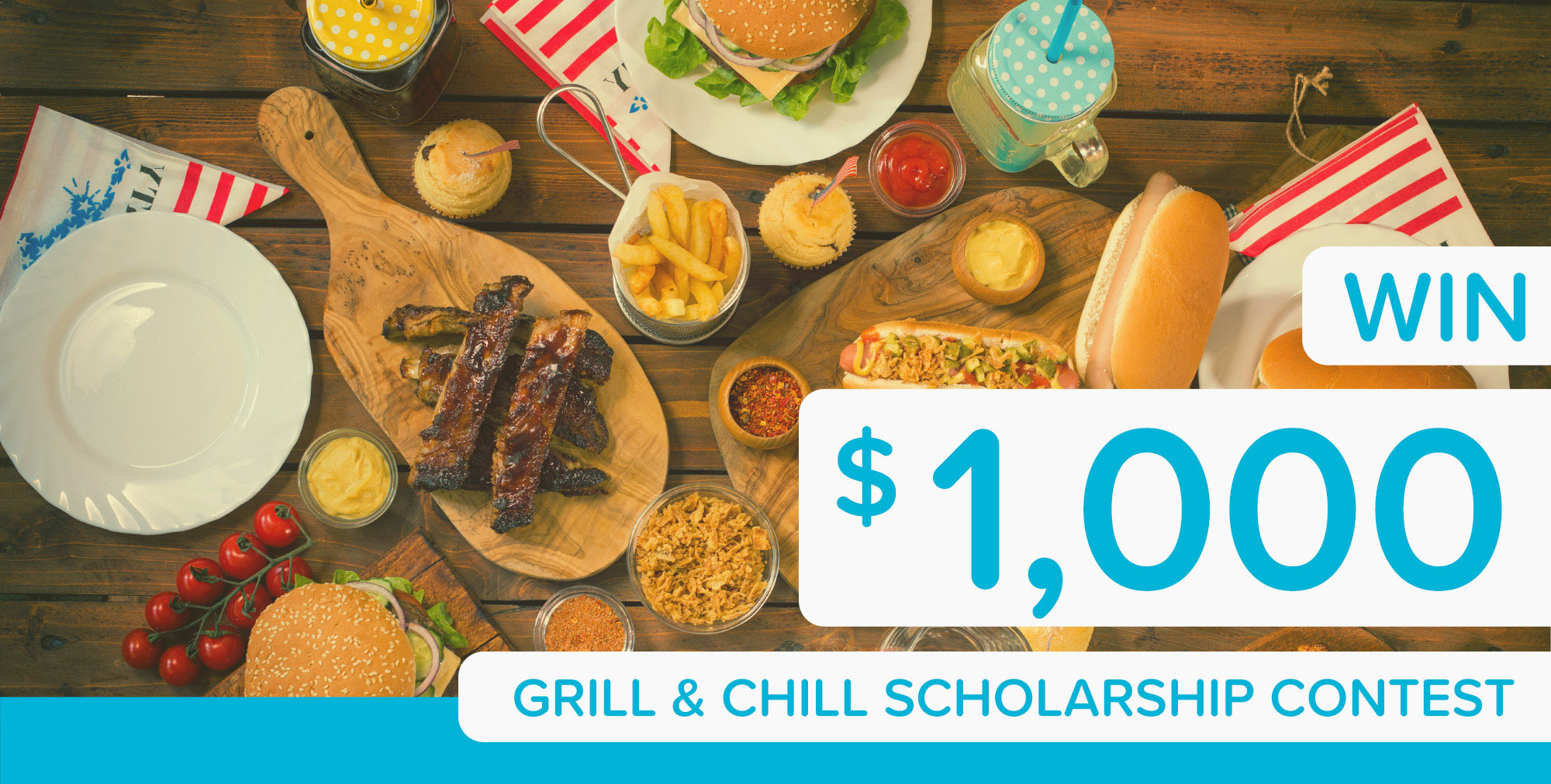 $1,000 Grill & Chill Scholarship Contest