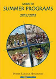 Porter Sargent Handbooks' 2012-2013 Guide to Summer Programs