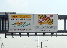 Four-Year Schools in Maryland with Articulation Agreements