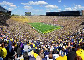 The 25 Largest College Football Stadiums
