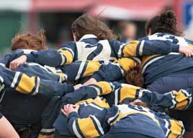 Colleges with Strength in Women's Rugby