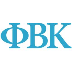 Phi Beta Kappa badge