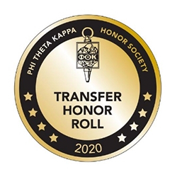 Transfer Honor Society badge