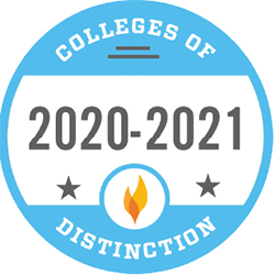 College of Distinction badge